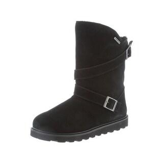 Bearpaw Boots Womens Prim II Waterproof Hi Lo Buckle Strap 1816W