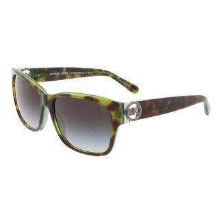 Michael Kors MK6003B SALZBURG 300211 Tortoise/Green Square Sunglasses