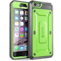 SUPCASE-iPhone 6 Plus -Unicorn Beetle Pro with Built-in Screen-Green /Gray