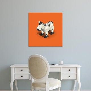 Easy Art Prints Bo Virkelyst Jensen's 'Zebra' Premium Canvas Art