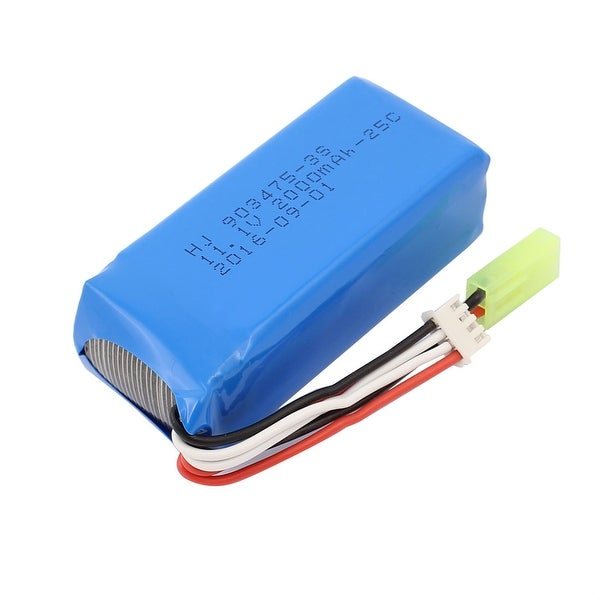 DC 11.1V 2000mAh Recycle Charging Lithium Li-ion Battery for RC Airplane