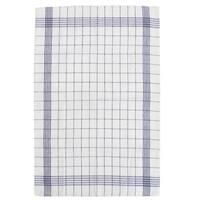 Home Kitchen Cotton Plaid Tea Towel Cloth Tablecloth Craft Placemat Navy Blue