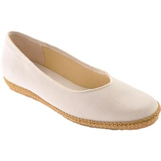Beacon Shoes Women's Phoenix White Canvas