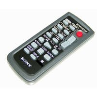 OEM Sony Remote Control Originally Shipped With: DCRHC90, DCR-HC90, HDRHC1, HDR-HC1, DCRHC46, DCR-HC46
