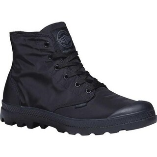Palladium Pampa Puddle Lite Waterproof Boot Black/Black Textile