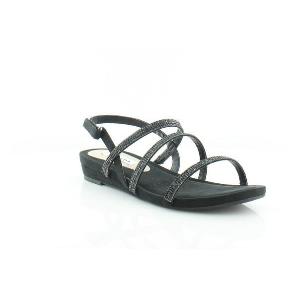 Nina Beonca Women's Sandals & Flip Flops Black Glam - 11