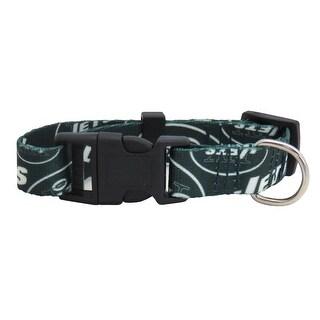 New York Jets Pet Collar Size M
