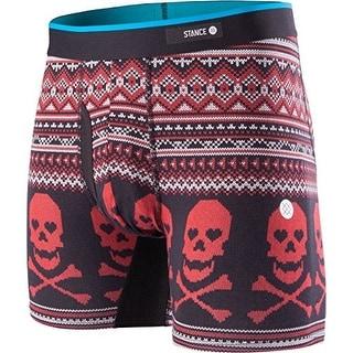 Stance Mens Valentine Bones Boxers Underwear - Red