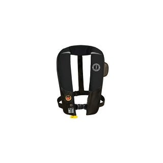 HIT Inflatable Automatic PFD With Harness - Black HIT Inflatable Automatic PFD With Harness