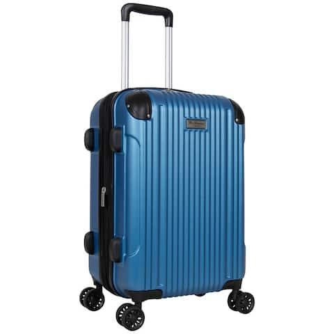 Ben Sherman Heathrow Haul 20 Lightweight Embossed, Textured ABS Expandable 8-Wheel Carry-On Luggage