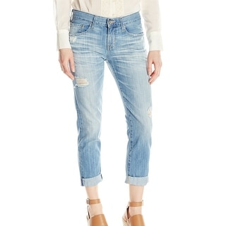 Big Star NEW Light Blue Women's Size 32X24 Capri Cropped Jeans