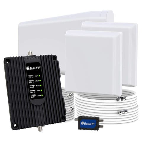 SolidRF Signal Plus Cell Signal Booster - Home and Office 2 Antennas