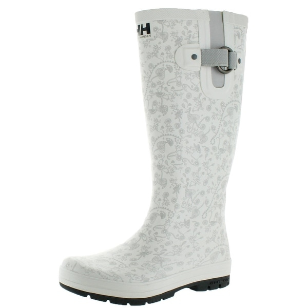 Helly Hansen Womens Veierland 2 Graphic Rain Boots Floral Print Belted