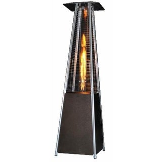 Sunheat PHSQGH 40,000 BTU Golden Hammered Finish Propane Patio Heater