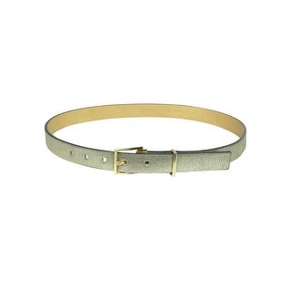 Calvin Klein Women's Metal Keep Embossed Leather Belt - XL