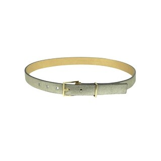 Calvin Klein Women's Metal Keep Embossed Leather Belt - XL (2 options available)