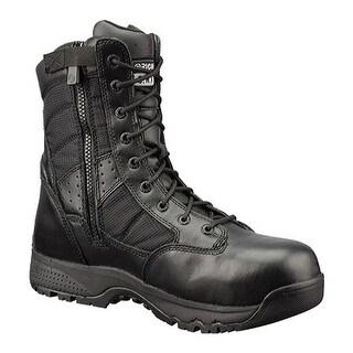 """Original S.W.A.T. Men's Tactical 9"""" Waterproof Side Zip Boot Black"""