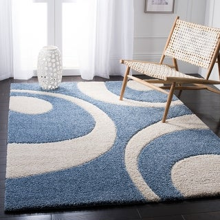 Link to Safavieh Florida Shag Jayati Abstract Rug Similar Items in Shag Rugs