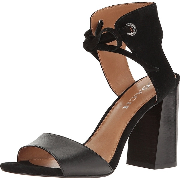 Coach Womens Madison Leather Open Toe Casual Ankle Strap Sandals