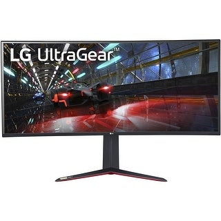 "LG 38GN950-B 3840 x 1600 38"" Curved IPS G-Sync Monitor,Black"