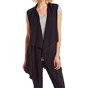 Michael Kors NEW Black Womens Size M Flyaway Vest Sleeveless Sweater