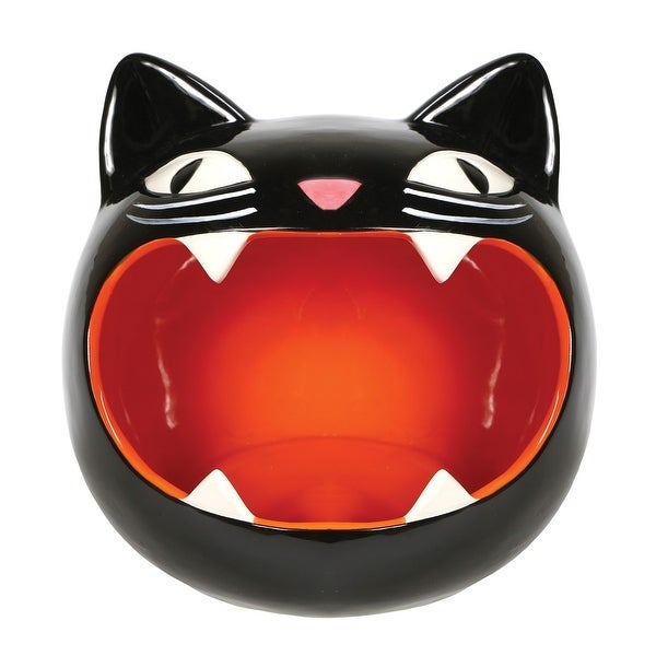Shop What On Earth Black Cat Candy Bowl Black Kitty Dish