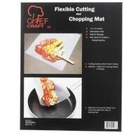 "Chef Craft 21296 Flexible Cutting Board, 12"" x 15"", White"