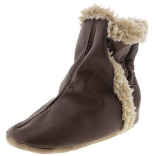 Robeez Leather Faux Fur Lined Boots - 18-24 mo