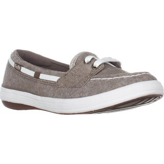 Keds Glimmer Lace Up Boat Shoes, Walnut