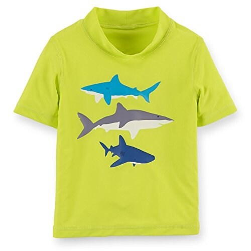 d622c78b5c Shop Carter's Baby Boys' Shark Rashguard - 18 Months - Free Shipping On  Orders Over $45 - Overstock - 17838132