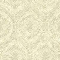 Brewster TLL01363 Hocking Hills Green Southwest Medallion Wallpaper
