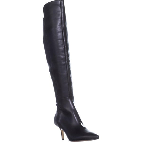 Marc Fisher Adana Over-The-Knee Boots, Black