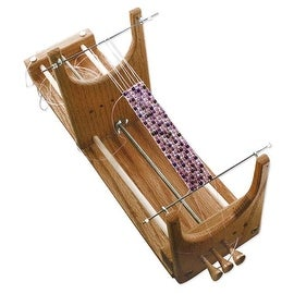 BeadSmith Ricks Beading Loom Kit For Beginners - Weave Necklaces Bracelets And More!