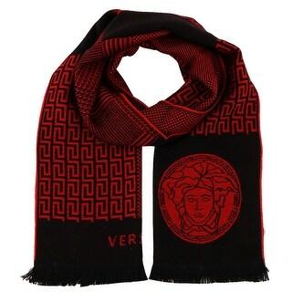 Versace IT00641 100% Wool Mens Scarf