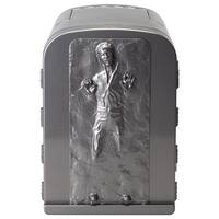 NEW Star Wars Han Solo in Carbonite 3D 4 Liter Thermoelectric Mini Fridge Cooler 4L