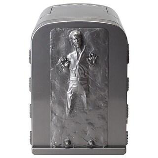 NEW Star Wars Han Solo in Carbonite 3D 4 Liter Thermoelectric Mini Fridge Cooler 4L