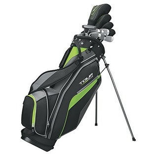 WILSON GOLF WGGC49710 Tour Plus Men's Package Set