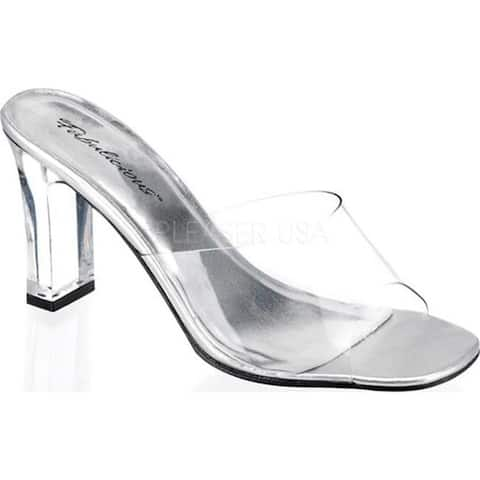 Fabulicious Women's Romance 301 Clear Lucite