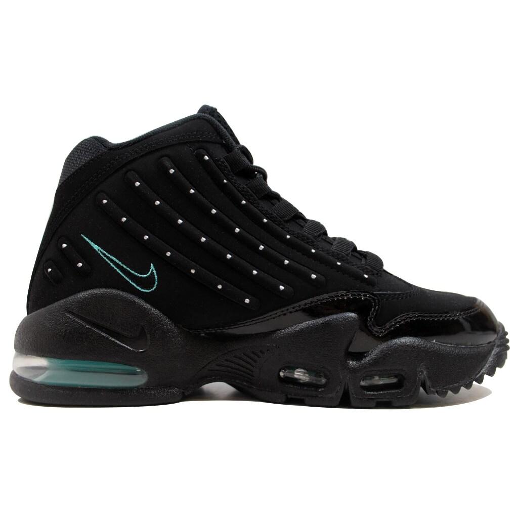 Nike Men's Air Griffey Max II 2 BlackBlack Hyper Jade 442171 002