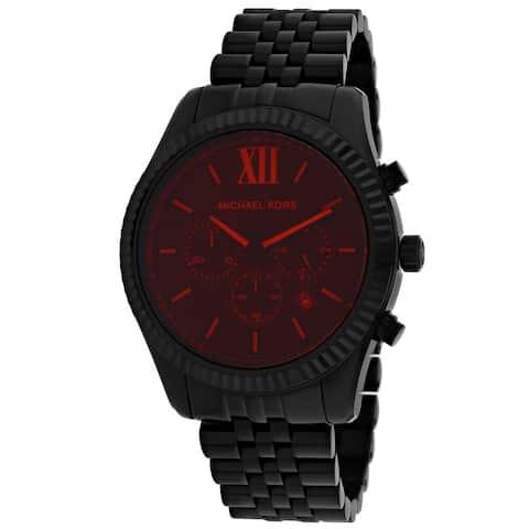 Michael Kors Men's Black Dial Watch - MK8733