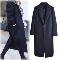 Extra Long Over-the-knee Thick Nizi Coat