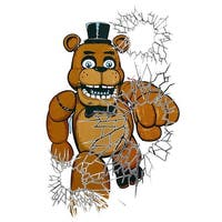 "Five Nights At Freddy's 48""x30"" Freddy Window Cover"