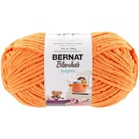 Bernat Blanket Brights Big Ball Yarn-Carrot Orange