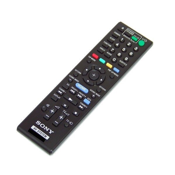 OEM Sony Remote Originally Shipped With: HBDN990W, HBD-N990W, BDVN890W, BDV-N890W, BDVEF220, BDV-EF220