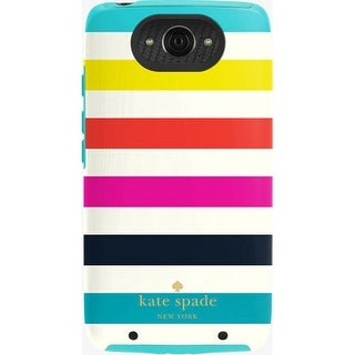 Kate Spade New York Dual Layer Case for Motorola Droid Turbo (Candy Stripe)