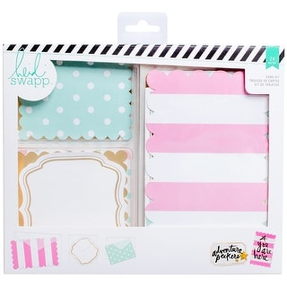 Heidi Swapp Cards W/Vellum Envelopes Kit-