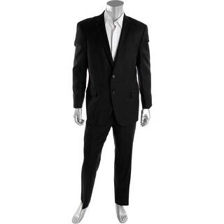 Hart Schaffner Marx Mens 2PC Notch Collar Two-Button Suit - 46R