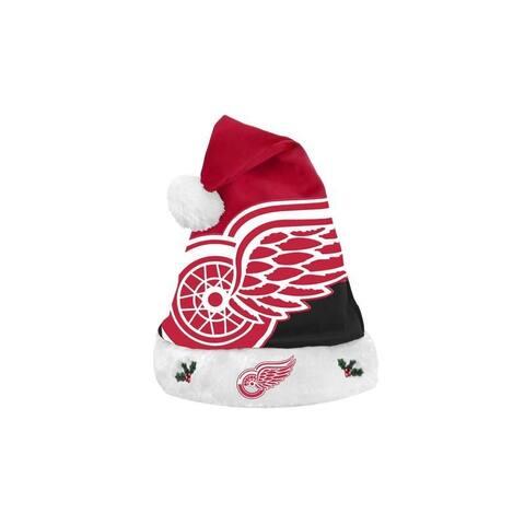 Detroit Red Wings Santa Hat Basic Design 2018