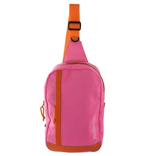 Wellhouse Authorized Outdoor Travel Adjustable Shoulder Strap Chest Bag Pink