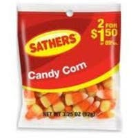 Sathers Candy Corn 12 pack (3.25oz per pack)